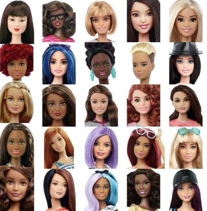Разнообразие Барби