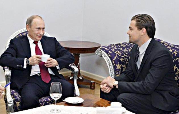 Испания: Путин помог Ди Каприо получить «Оскар»