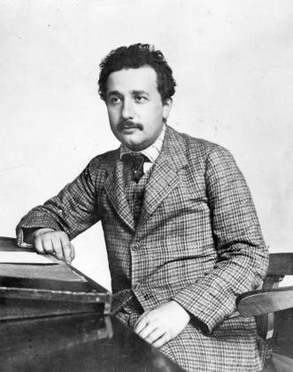 Альберт Эйнштейн в патентном бюро в Берне, 1904