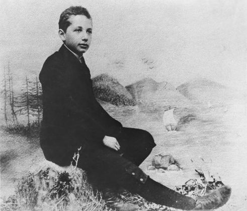 Альберт Эйнштейн в 14 лет