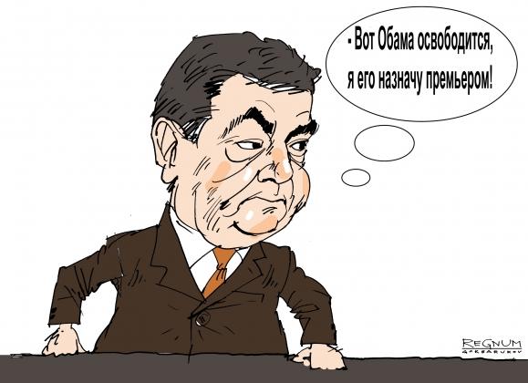 «Никто не удивится, если завтра Порошенко снимет с должности Обаму»