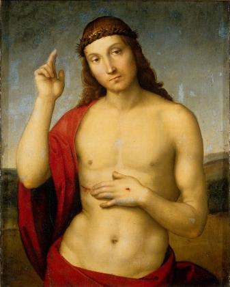 Рафаэль. Христос благословляющий. 1502