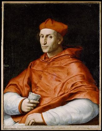 Рафаэль. Портрет кардинала Биббиена. 1516