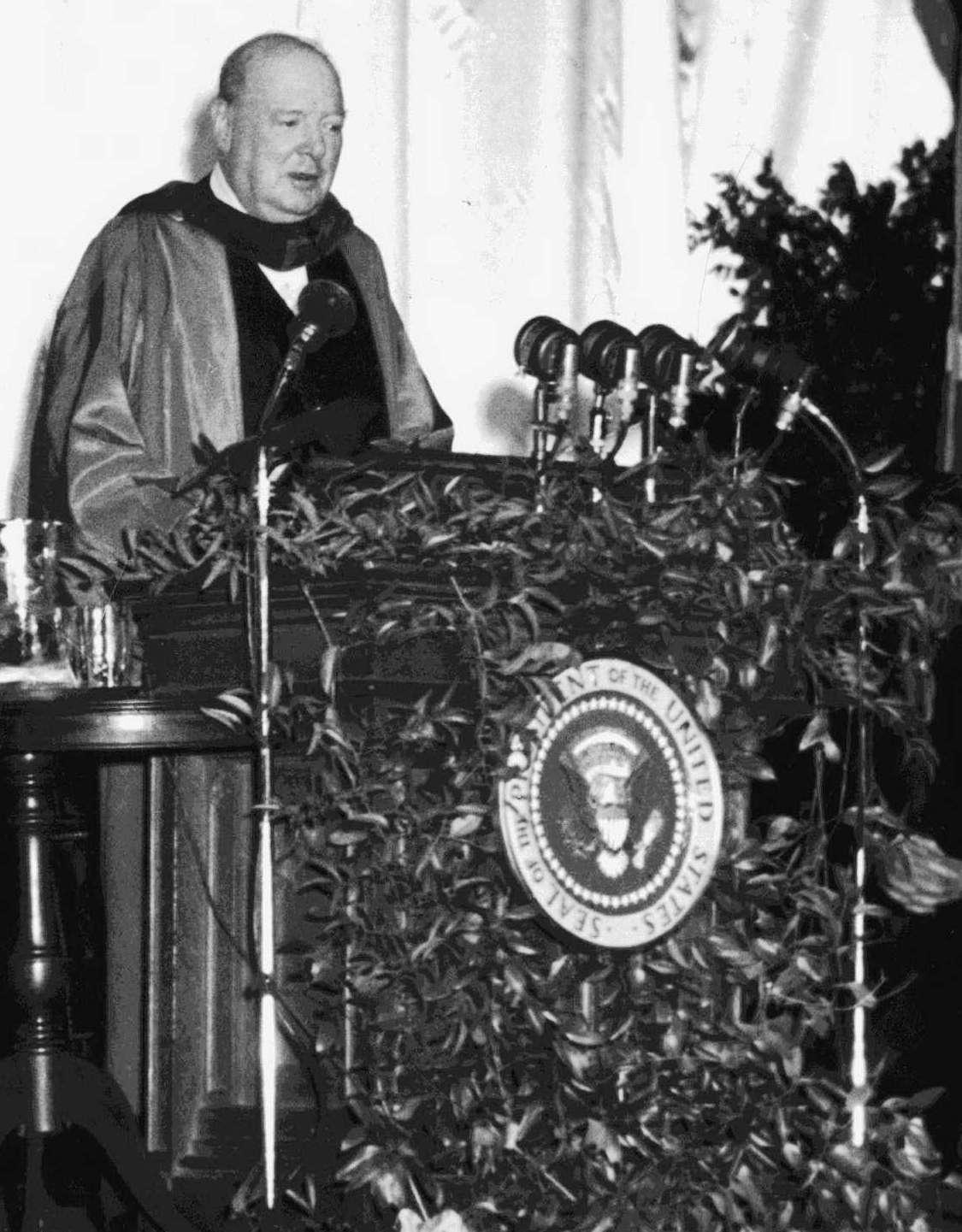 Churchill iron curtain speech cartoon - Iron Curtain Speech Winston Churchill The Iron Curtain Speech Iron Curtain Speech