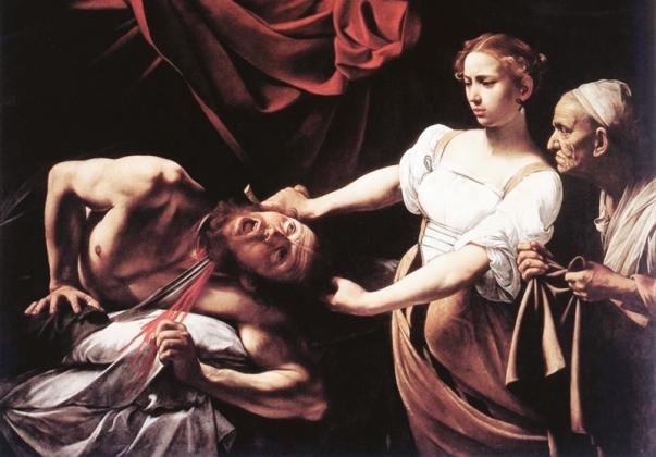 Микеланджело да Караваджо. «Юдифь и Олоферн». 1598 год