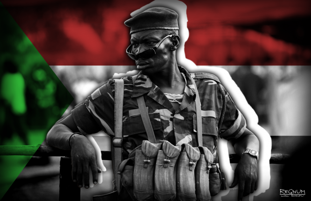 Солдат в Судане
