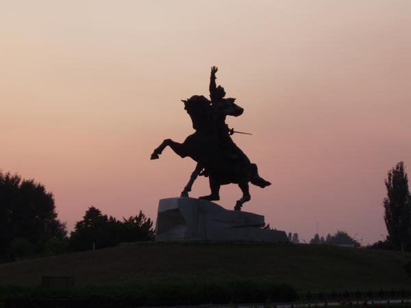 Памятник генералиссимусу Александру Суворову в Приднестровье