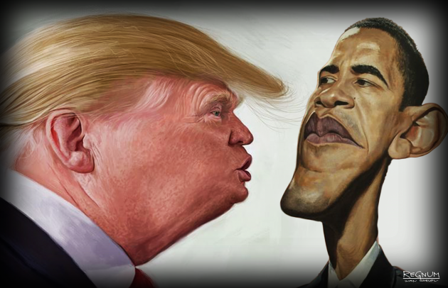 Трамп vs Обама