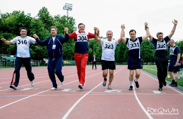 Депутаты Госдумы сдали нормативы ГТО— фоторепортаж