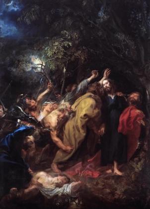 Антонис ван Дейк. Взятие под стражу. 1618-1620