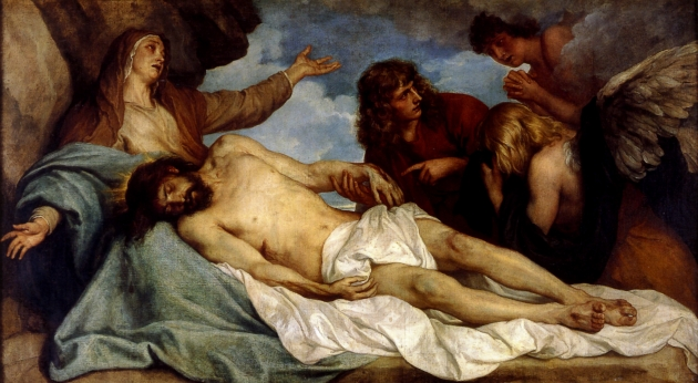Антонис ван Дейк. Оплакивание Христа. 1635-1640