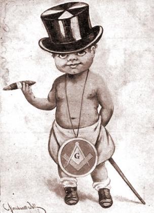 Старая открытка, США