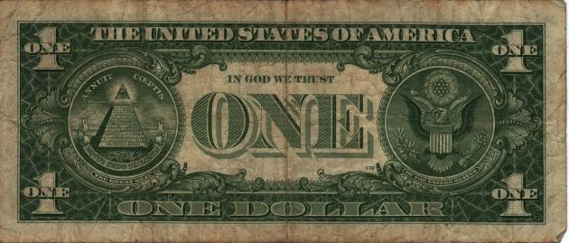 Доллар США как масонская символика