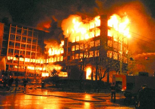 Бомбардировка Белграда авиацией НАТО, основанная на «доброй воле» и «благих намерениях»