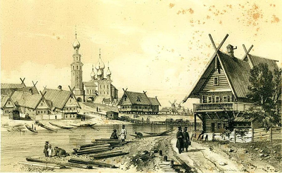 город село в прошлом картинки часто обращается