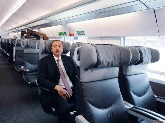 Ильхам Алиев перед выбором