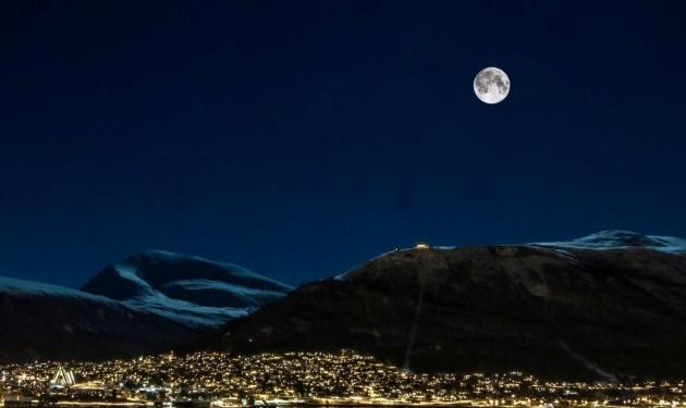 Северная Норвегия. Город Тромсё