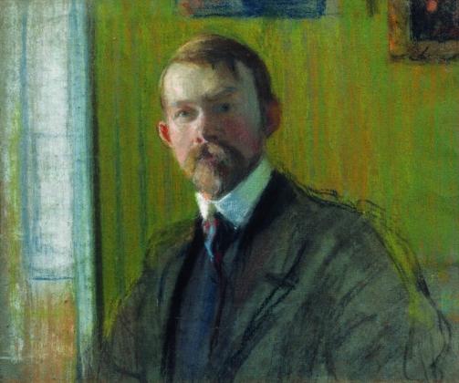 Борис Кустодиев. Автопортрет. 1900