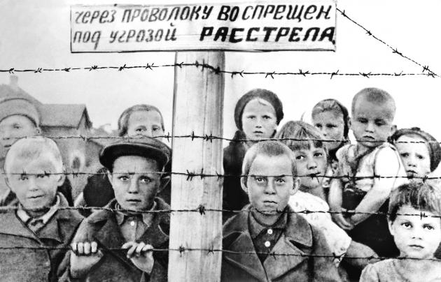 Фото детей жертв концлагерей 87