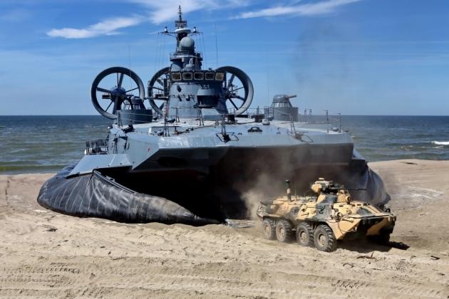 «Мордовия» готовится к высадке десанта на российское побережье Балтики