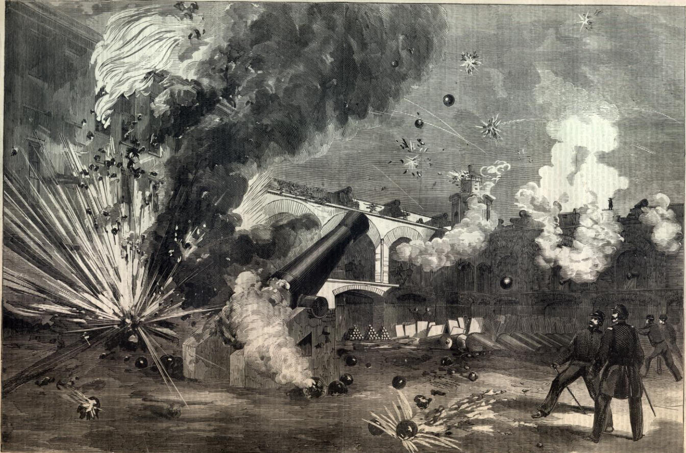 a history of attack on the union fort A short history of the civil war the virginia sortied out to attack ships of the union navy porter conducted his first attack against fort fisher and.