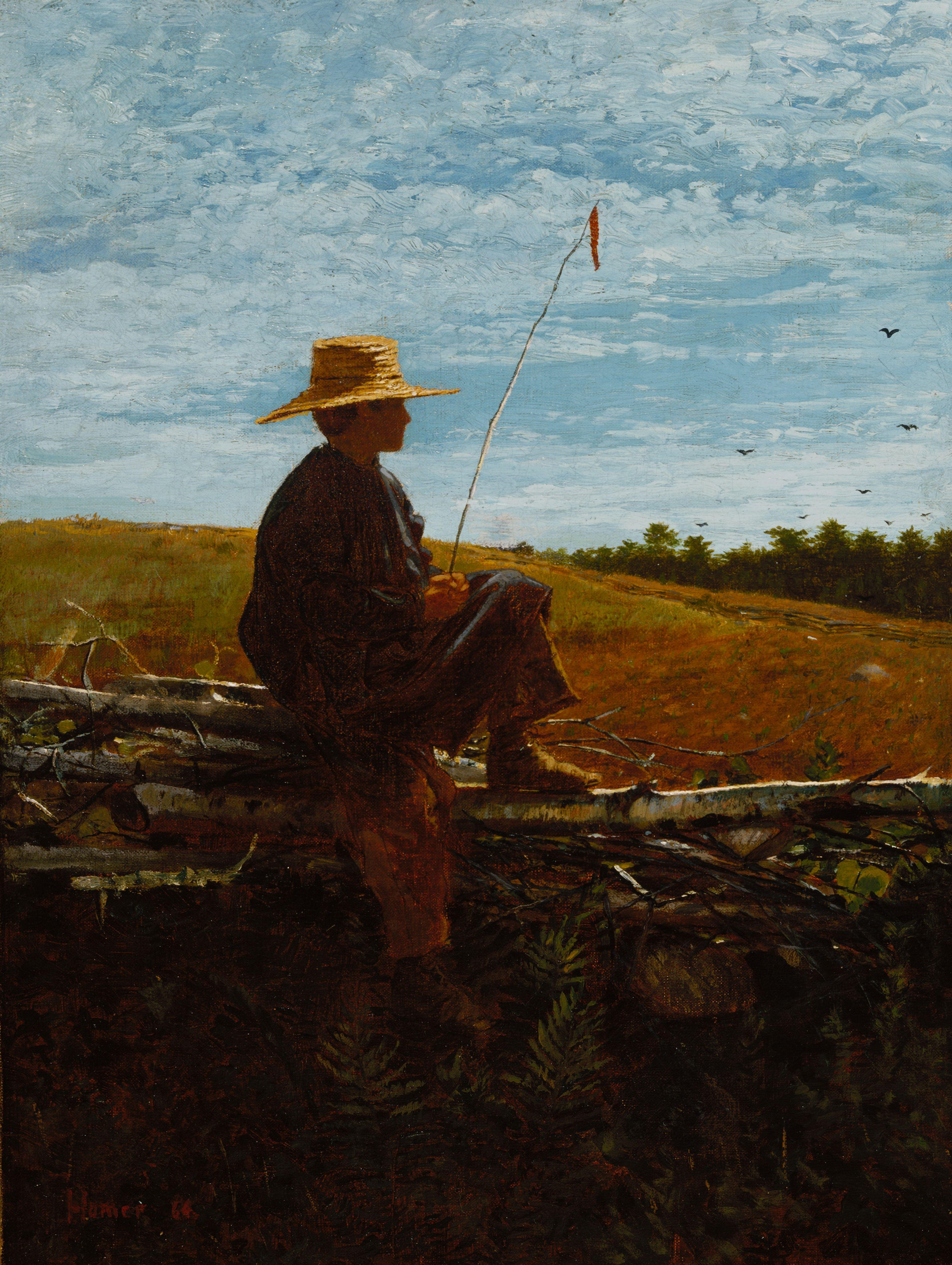 Уинслоу Хомер. На страже. 1864