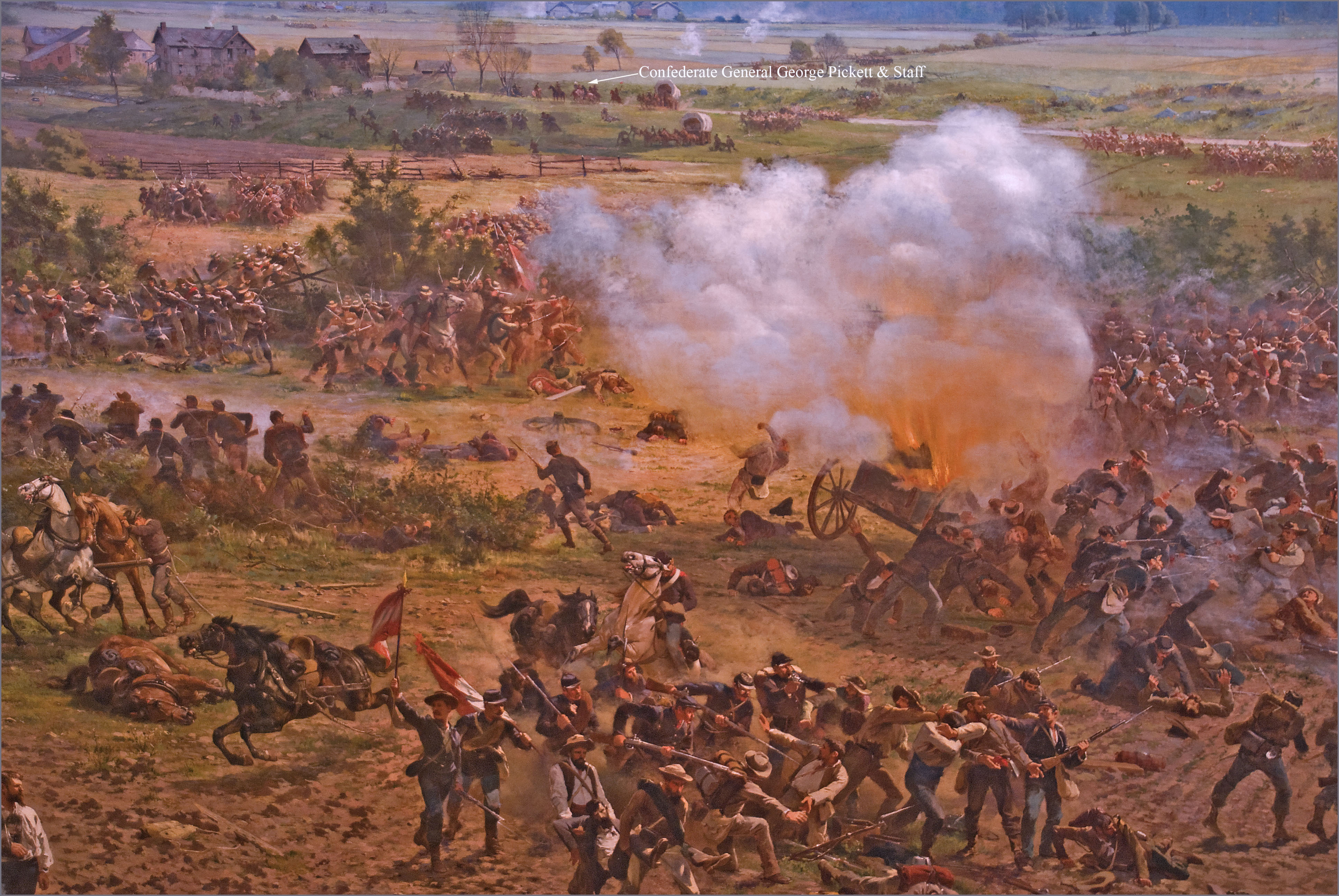a history of gettysburg Hourly history tells the tale of the civil war and the battle of gettysburg very well the war started on april 12, 1861 when a single shot was fired it lasted until may 9, 1865 with more than a half million american deaths, 25 percent of the country's population.