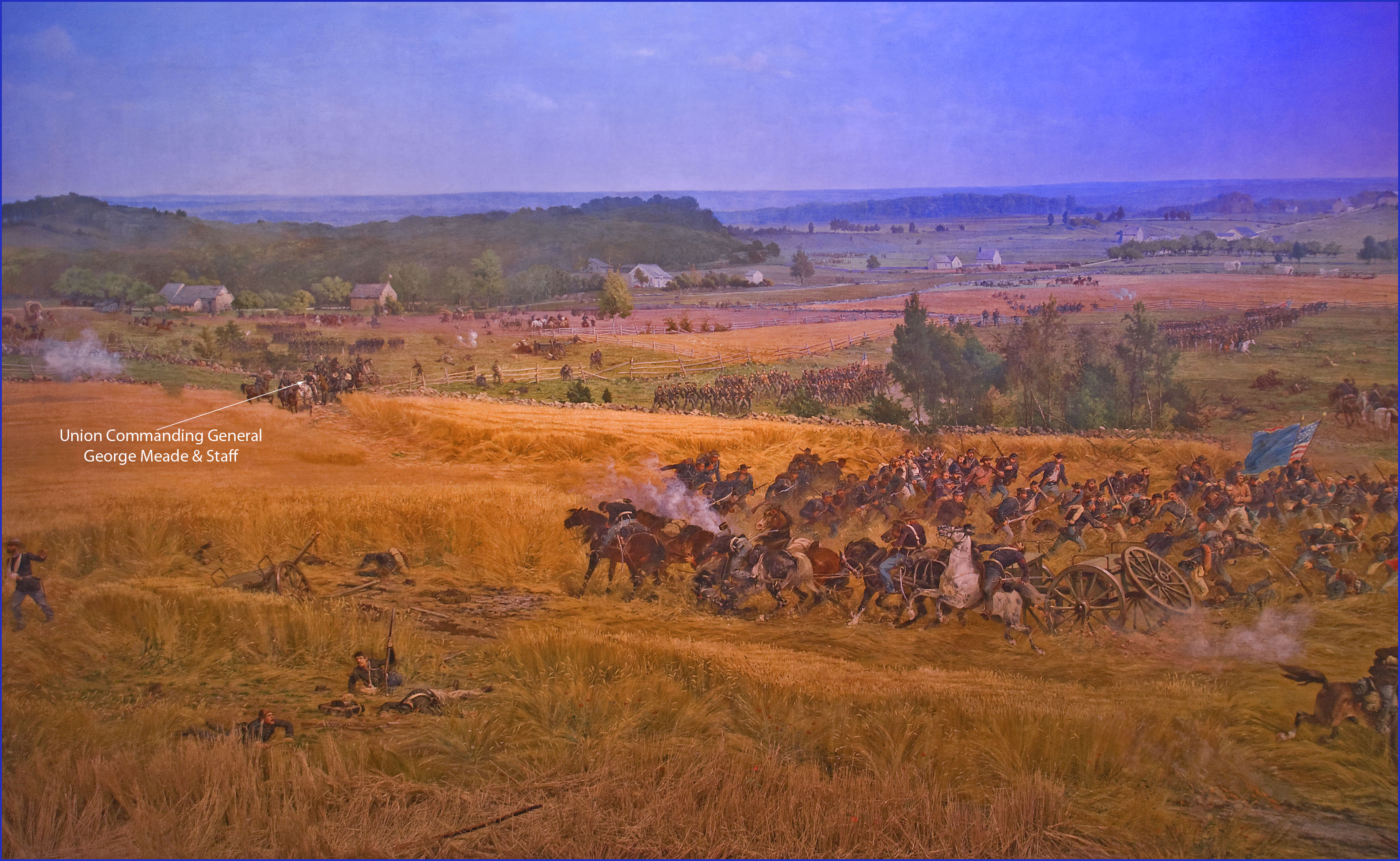 an overview of the infamous battle of gettysburg This paper provides an overview of the battle of gettysburg in general, followed by an assessment of how the roles played by the 26th north carolina and the iron brigade during the first two days of battle helped to influence the outcome.