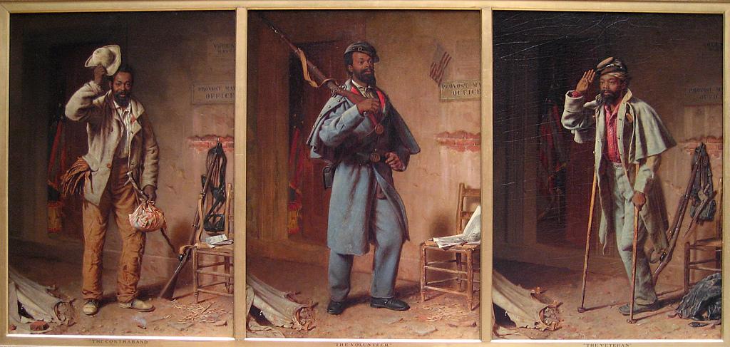Томас Вуд. Немного истории войны. Триптих. Контрабандист. Рекрут. Ветеран. 1866