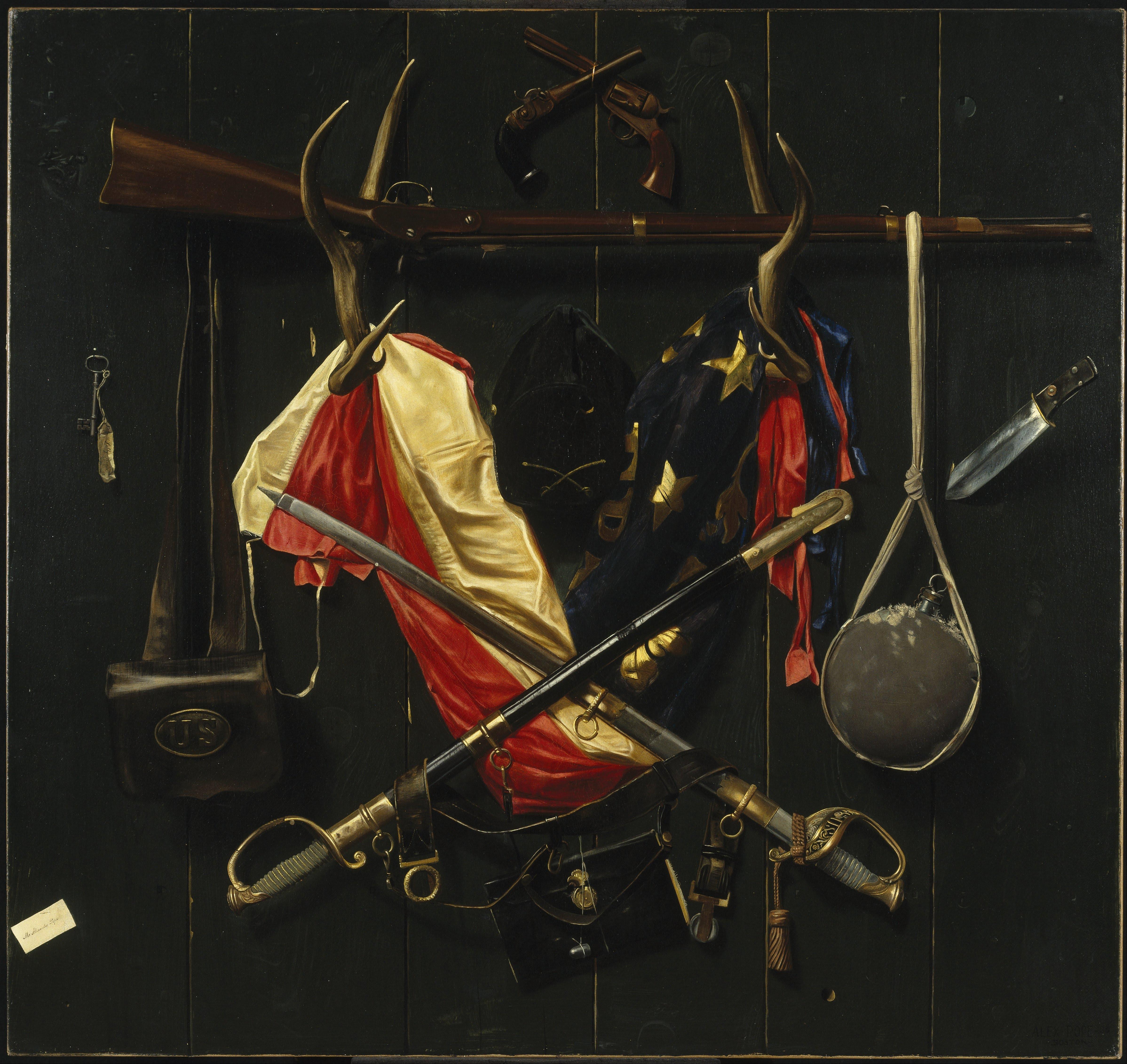 Александр Поуп. Символы Гражданской войны. 1888