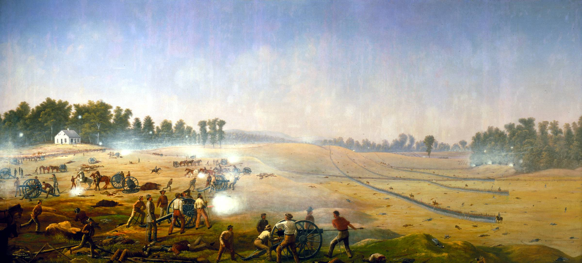 Капитан Джеймс Хоуп. Артиллерийский ад. Сражение при Энтитеме 17 сентября 1862 года. 1862-1892