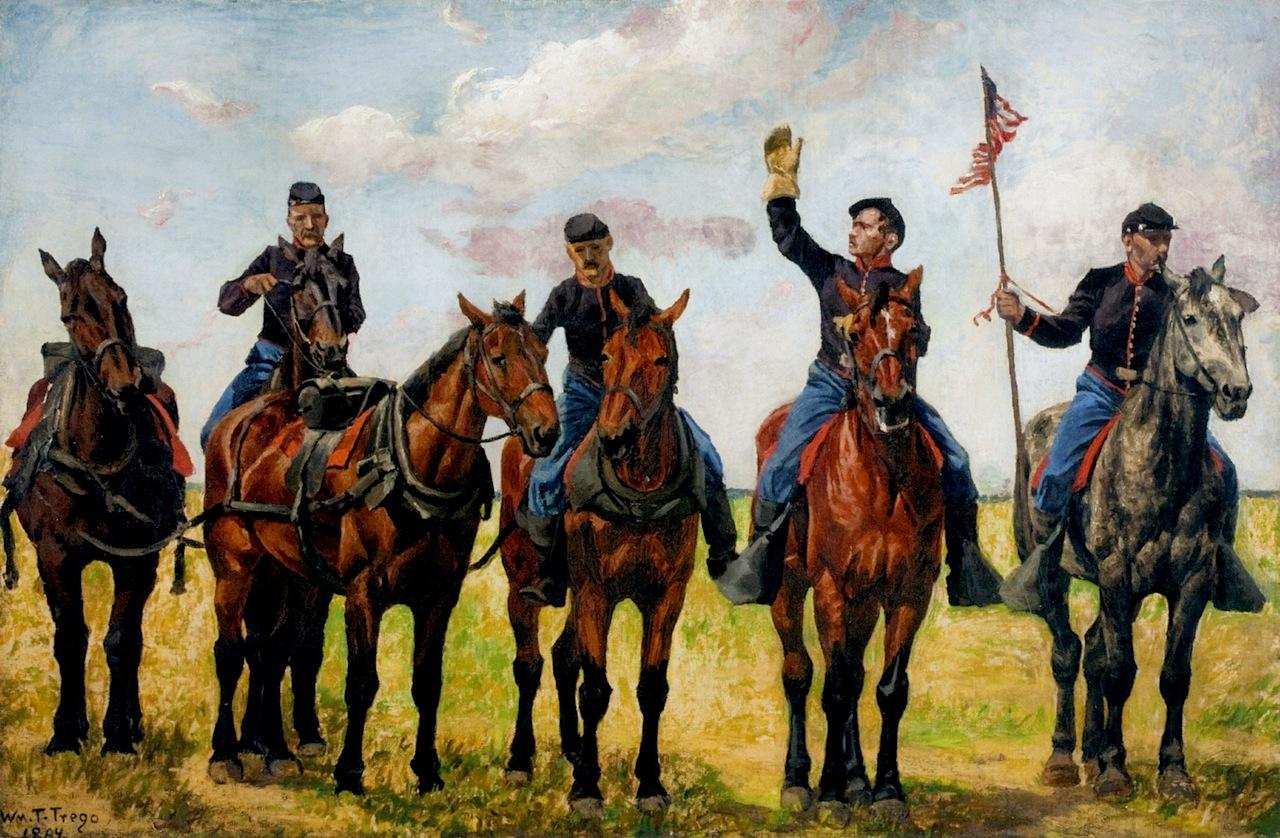 Уильям Трего. Конная артиллерия. 1884