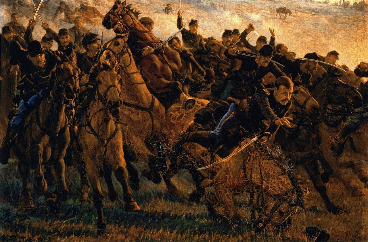 Уильям Трего. В борьбе. 1884