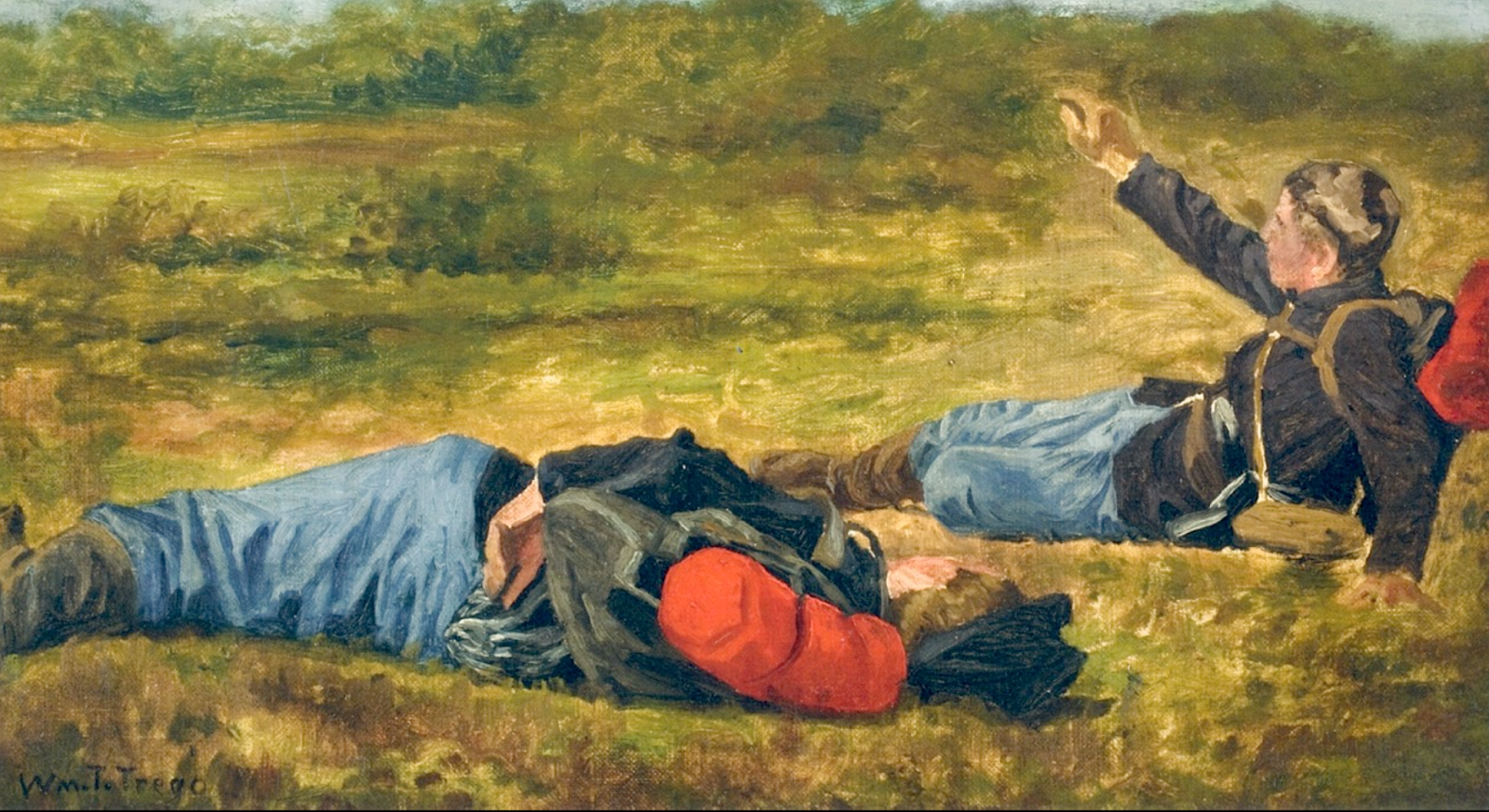 Уильям Трего. Раненые. 1891