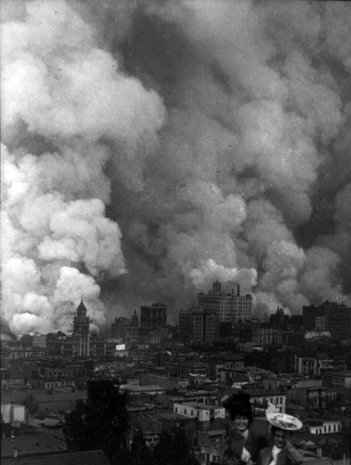 Сан-Франциско после землетрясения. Фото — Арнольд Джент. 1906