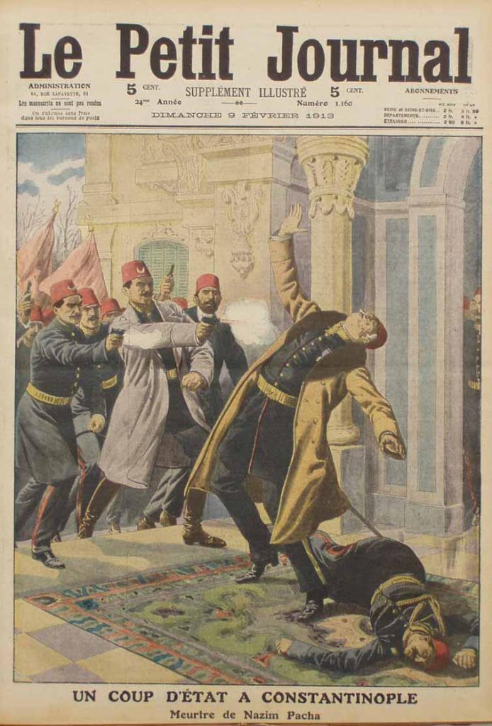 Убийство Назима-паши. 1913