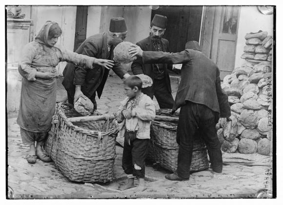 Продовольственная помощь для армянских беженцев. 1915