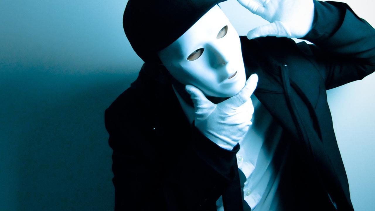 Фото на аву в маске для пацана