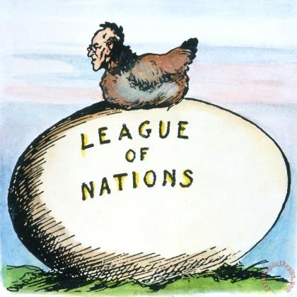 Лига, так и не ставшая Организацией