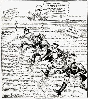 Сеятели войны. 1919