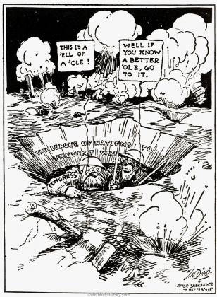 Собираюсь поговорить с боссом. 1919