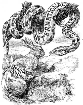 Моральное убеждение. 1920