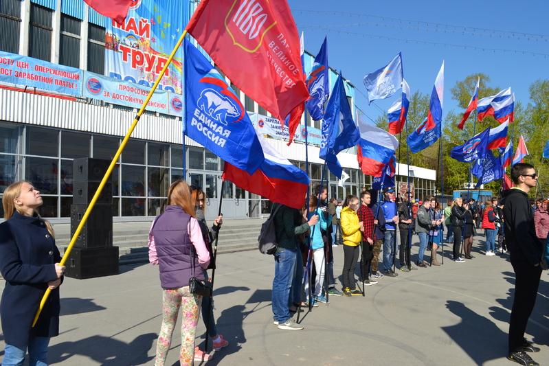 Первомай в Барнауле