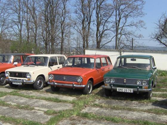 Брно. ВАЗ-2101,2102,2103