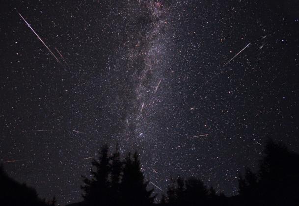 Максимум метеорного потока Эта-Аквариды наступит в ночь на 6 мая
