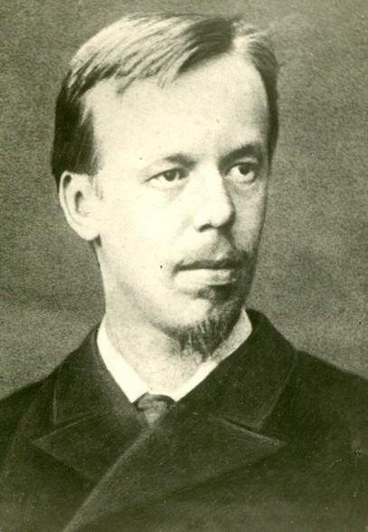 Александр Степанович Попов в год окончания университета. 1883