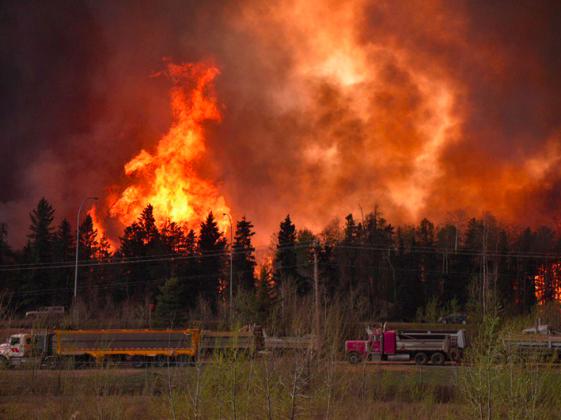 Площадь пожаров в канадской Альберте всего за сутки возросла в два раза - ИА REGNUM