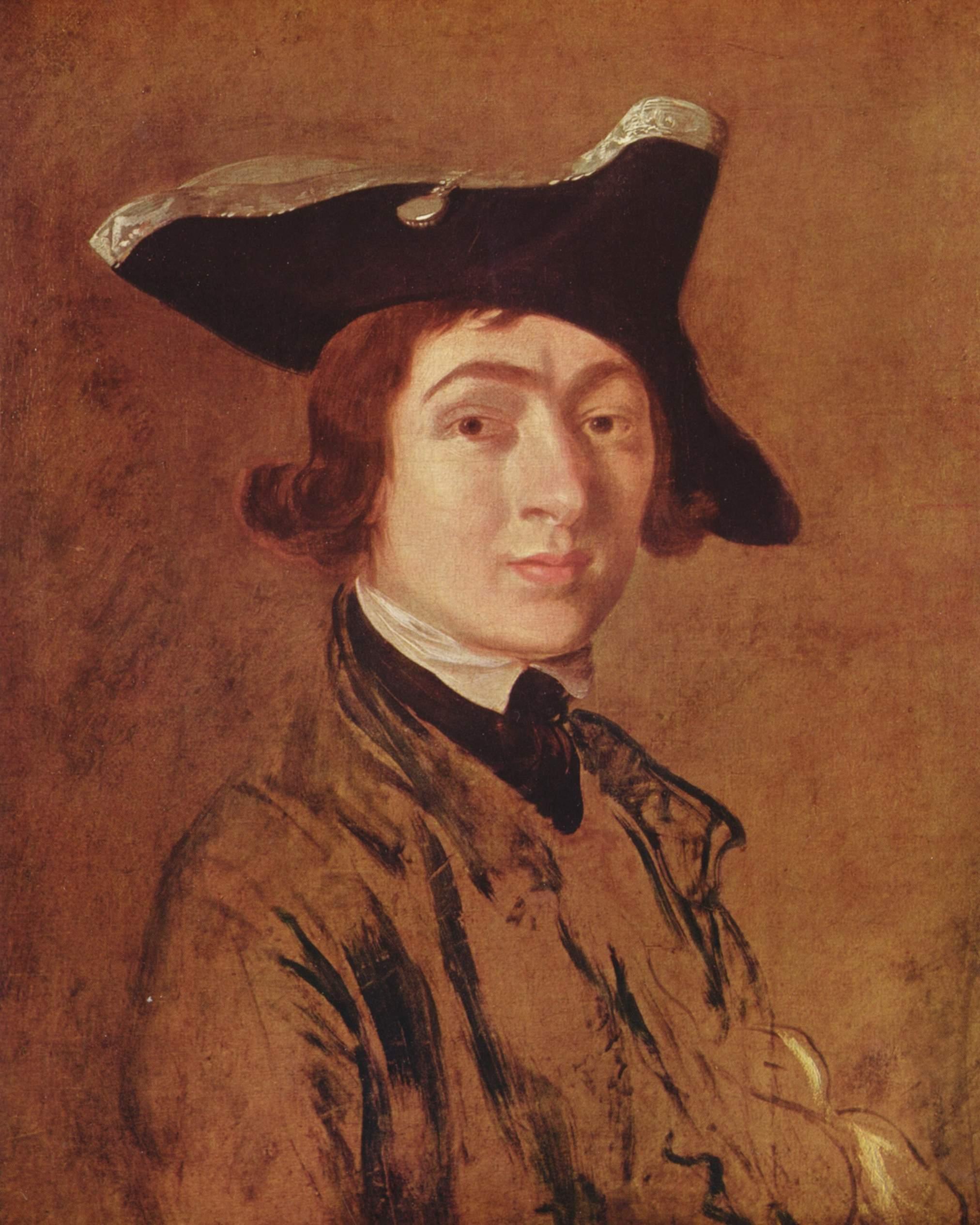 Томас Гейнсборо. Автопортрет. 1754