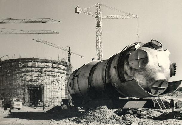 Строительство АЭС Хосе Кабрера. 1966