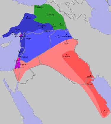 Россия или Британия? Кто нарисует новую карту Ближнего Востока?